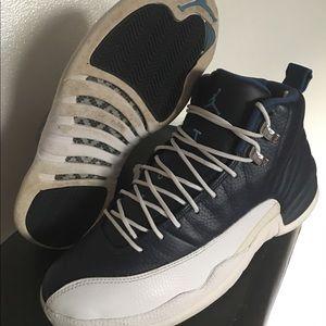 Used Air Jordan Obsidian 12s Men's Size 9.5